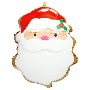 サンタクッキー ヘリウムなし 風船 バルーン 誕生日 パーティー 結婚式 プレゼント 開店祝い 飾りかわいい おしゃれ ふうせん キャラクター バースデー プレゼント ヘリウムガス ギフト ウ