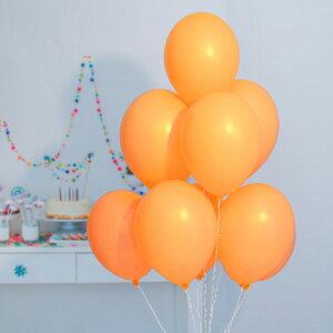 9インチ パステル オレンジ 100個入風船 バルーン 誕生日 パーティー 結婚式 プレゼント 開店祝い 飾りかわいい おしゃれ ふうせん キャラクター バースデー プレゼント ヘリウムガス ギフト
