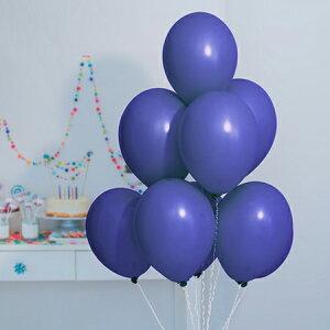 9インチ パステル ナイトブルー 20個入風船 バルーン 誕生日 パーティー 結婚式 プレゼント 開店祝い 飾りかわいい おしゃれ ふうせん キャラクター バースデー プレゼント ヘリウムガス ギ