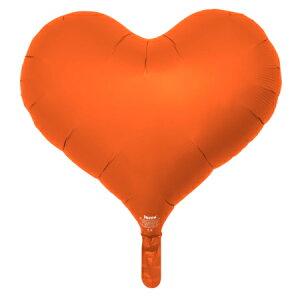 アイブレックス14インチジェリーハートオレンジ ヘリウムガスなし風船 バルーン 誕生日 パーティー 結婚式 プレゼント 開店祝い 飾りかわいい おしゃれ ふうせん キャラクター バースデー