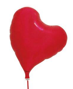 アイブレックス スウィートハート メタリックレッド ヘリウムガス缶付風船 バルーン 誕生日 パーティー 結婚式 プレゼント 開店祝い 飾りかわいい おしゃれ ふうせん キャラクター バース
