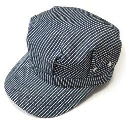 レイルロードキャップ(ネイビーストライプ)PENNANTBANNERS-pb003-nyst-Z完-CAP帽子ワークキャップヒッコリーアメカジカジュアルかわいいかっこいいメンズレディース男女兼用春夏秋冬物コットン綿100%セレクトショップ