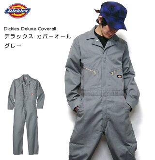 Deluxe Coverall华丽覆盖物全部(灰色:间接)dk-4879-gy-A-糖果舵工作工作服休闲人男女两用派的