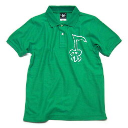 落書きスカルオンプガールズポロシャツ【BPGT(バンビプラネットグラフィックTシャツ)】(sp064gpo)【A】