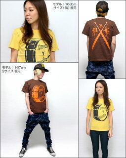 DrumRocker1(ドラムロッカー)Tシャツ(ダークブラウン)【BPGT-バンビプラネットグラフィックTシャツ】sp030tee-G-ロックTシャツドラムTシャツバンドTシャツオリジナルTシャツTee半袖メンズレディースユニセックス【RCP】