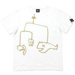 モビモビTシャツ(ホワイト)sp060tee-wh-Z完-半袖白teeイラスト落書きらくがきクレヨンポップキャラクターアメカジカジュアルかわいいおしゃれメンズレディースユニセックスブランド大きいサイズコットン綿100%Tシャツ屋さんバンビ【RCP】