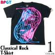 ClassicalRockTシャツ-BPGTバンビプラネットグラフィックTシャツ-sp069tee-G-クラシックロックロックTシャツバンドTシャツライブフェス半袖かっこいいメンズレディースユニセックスブラック黒大きめサイズ【RCP】