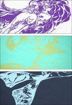 マーメイド(Mermaid)Tシャツbastergreatbg005tee-Z完-半袖トップス人魚童話イラストプリントコラボTシャツかわいい可愛いカジュアルメンズレディースユニセックス大きめサイズ春夏秋服コーデコットン綿100%バスターグレード【RCP】