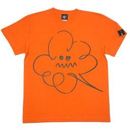 モクモクTシャツ-BPGTバンビプラネットグラフィックTシャツ-sp061-G-POPくもり空シンプルイラストかわいい可愛いネイビーオレンジ紺色オリジナルTシャツ半袖メンズレディースユニセックス大きいサイズ【RCP】