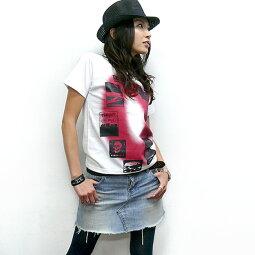 予約販売中!Gleam0(ゼロ)Tシャツ-TheGhostWritertgw023tee-GR-半袖トップスフォトグラフィックパンクロックストリートPunkRockかっこいいメンズレディースユニセックスオリジナルホワイト白色春夏秋服コーデ大きいサイズ【RCP】