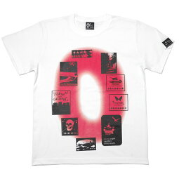 Gleam0(ゼロ)Tシャツ-TheGhostWritertgw023tee-GR-半袖トップスフォトグラフィックパンクロックTシャツストリートPunkRockおしゃれメンズレディースユニセックスオリジナルホワイト白色春夏秋服コーデ大きいサイズ【RCP】