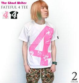 fateful 4 Tシャツ(ホワイト)-The Ghost Writer tgw024tee-wh-Z完- 半袖 UK NY パンクロックTシャツ カジュアル アメカジ ストリート かっこいい メンズ レディース ユニセックス ブランド 大きめサイズ 白色 コットン綿100%【RCP】