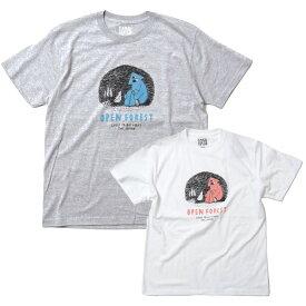 BAMBOO SHOOTS バンブーシュート OPEN FOREST TEE ★オープンフォレストティープリントT Tシャツ カットソー CAMP FES フェス アウトドア ファッション フジロック かっこいいT おしゃれT メンズ レディース ユニセックス