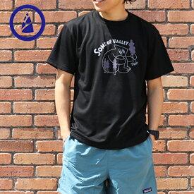 BAMBOO SHOOTS バンブーシュート【速乾T】Sons of Valley TEE プリント Tシャツ T T-SH アウトドアファッション CAMP FES キャンプ フェス フジロック 清水将司 モックン GOOUT サラサラ かっこいいT おしゃれT ユニセックス