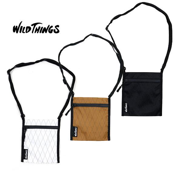 WILD THINGS ワイルドシングスMINI BAG ミニバッグOUTDOOR アウトドア CAMP キャンプ FES フェス 軽量 カジュアル ショルダーバッグ ポーチ パスポートサイズ WT フジロック サマソニ アウトドアファッション