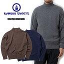 ★SALE★セール商品・返品交換不可★BAMBOO SHOOTS バンブーシュート USN GOB SWEATER セーター【送料無料】カジュア…