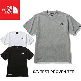 THE NORTH FACE ザ ノースフェイス S/S TESTED PROVEN TEE ショートスリーブ テステッド プルーブン ティーTNF 半袖 Tシャツ シンプル ロゴ おしゃれ かっこいい Tシャツ T-SHIRTS キャンプ フェス TNF 20FW NT82030