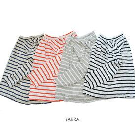 【2020春夏|2020SS】YARRA(ヤラ)粗挽きリネン九分袖BD【YR-00-033B】【ネコポス便可能】