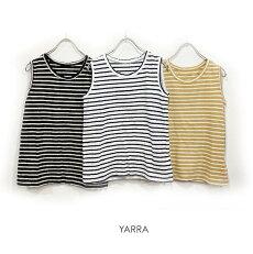 【2020春夏|2020SS】YARRA(ヤラ)ECOリバイバルタンク(BD)【YR-00-040B】【ネコポス便対応】