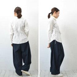 orslowオアスロウレディースシャンブレー/【送料無料】ShambrayShirt(シャンブレーシャツ)White【00-8070-69】