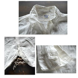 【ポイント10倍】orslow(オアスロウ)ShambrayShirt(シャンブレーシャツ)White【00-8070-69】【送料無料】