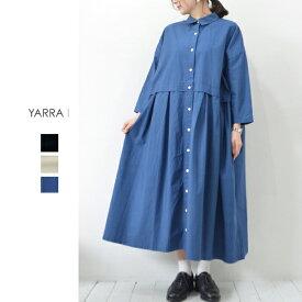 【30%OFFSALE】YARRA(ヤラ)タイプライターシャツワンピース