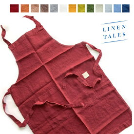 【10%OFFSALE】LINEN TALES(リネン テイルズ)DAILY APRON【CC-RA01】