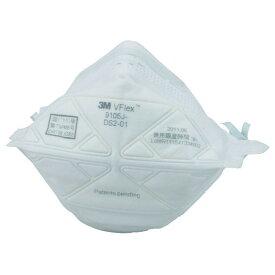 使い捨て防じんマスク 3M 9105J-DS2(20枚入り) 溶接ヒュームから守るDS2規格品【PM2.5対応】☆折りたためて、フィット感抜群
