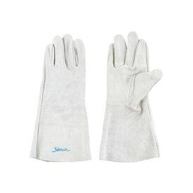 シモン 溶接用革手袋 122DKマーク有り 5本指(長) 10双セット