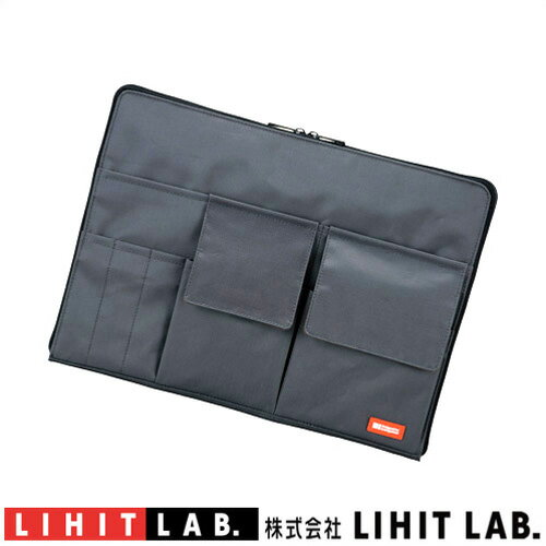 バッグインバッグ A4クリアファイル収納が可能A-7554-24 ブラックリヒトラブサコッシュカバンの中をスッキリ、スマートに整理。かさばらない薄型タイプカバンの中でかさばらない薄型タイプレディース