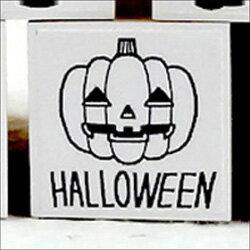 ハロウィンゴム印HALLOWEENかぼちゃ印面サイズ:22×22mm【イラストゴム印・スタンプ・マンガ・評価印・ハンコ】【02P23Sep15】