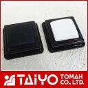 オールパーパスパッド白・黒2ヶセットスタンプ台盤面サイズ:25×25mm速乾性顔料インク使用