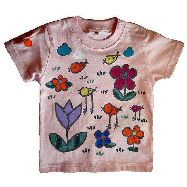 名入れTシャツ出産祝い 子供服 名入れとりさん干支Tシャツ