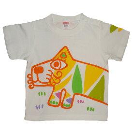 名入れTシャツ出産祝い 子供服 名入れレインボー虎Tシャツ