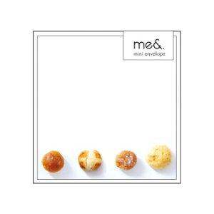 me& ミニ封筒 パン 5個セット MA0402 メーカ直送品  代引き不可/同梱不可