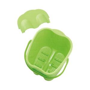 サロン向け 足湯バケツ(深型) グリーン 91410 メーカ直送品  代引き不可/同梱不可