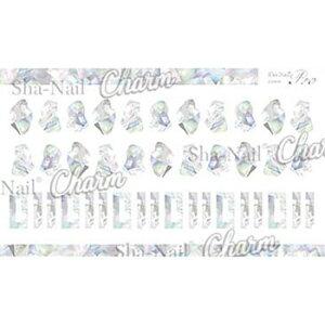 写ネイル ネイルシール Sha-NailCharm STARLIGHT SHELL (M) CH-002m メーカ直送品  代引き不可/同梱不可