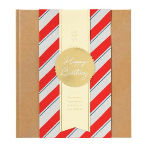 GIFT WRAPPING ALBUM ギフトラッピングアルバム L party stripe GWAL-02 メーカ直送品  代引き不可/同梱不可