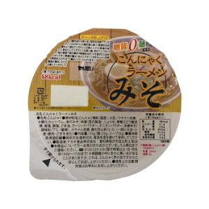 ナカキ食品 カップこんにゃくラーメンシリーズ 蒟蒻ラーメンみそ 12個セット×2ケース メーカ直送品  代引き不可/同梱不可