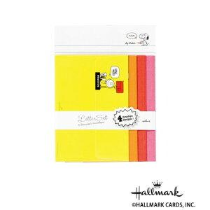 Hallmark ホールマーク スヌーピー 便箋封筒セット プリーズ 6セット 686871 メーカ直送品  代引き不可/同梱不可