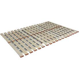 3つ折れマットレスに最適! 薄型軽量桐すのこベッド3つ折れ式 セミダブル LYT-310 メーカ直送品  代引き不可/同梱不可