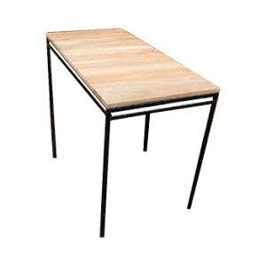 アイアンウッドテーブル1050 34272 メーカ直送品  代引き不可/同梱不可