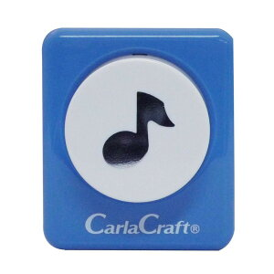 Carla Craft(カーラクラフト) クラフトパンチ(大) ミュージック CP-2 4100660 メーカ直送品  代引き不可/同梱不可