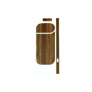 AWESOME(オーサム) アイコススキンシール ブラウン(木目) IQS-001 メーカ直送品  代引き不可/同梱不可