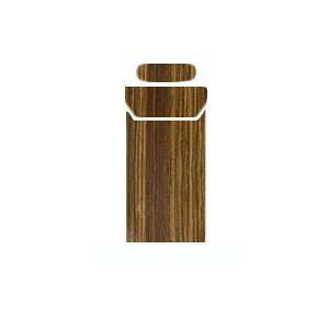 AWESOME(オーサム) プルームテックスキンシール ブラウン(木目) PLS-001 メーカ直送品  代引き不可/同梱不可