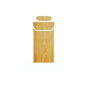 AWESOME(オーサム) プルームテックスキンシール ナチュラル(木目) PLS-003 メーカ直送品  代引き不可/同梱不可
