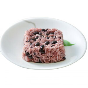 一粒庵 冷凍ごはん 佐賀県産米 黒豆と黒米のおこわ 12個 メーカ直送品  代引き不可/同梱不可