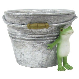 Copeau(コポー) カエルとバケツの小物入れ 70604 メーカ直送品  代引き不可/同梱不可
