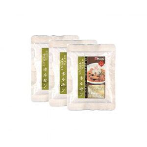 こまち食品 やわらか味噌煮込みホルモン 3袋セット メーカ直送品  代引き不可/同梱不可