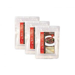 こまち食品 ビーフシチュー 3袋セット メーカ直送品  代引き不可/同梱不可